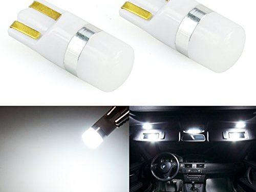 JDM ASTAR Super Bright 194 168 175 2825 T10 3030 Chips LED Bulbs,Xenon White