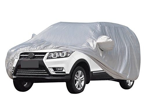 """AUDEW Car Cover Waterproof /Windproof/Dustproof/Scratch Resistant Car Cover Sun Outdoor UV Protection Full Car Covers For SUV Car 210"""""""