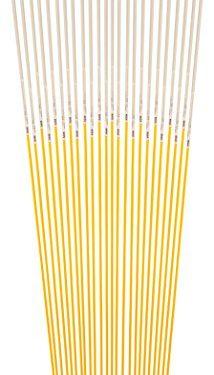 Blazer 381YDM-24 Yellow 48-Inch Fiberglass Pole Reflective Driveway Marker – Pack of 24