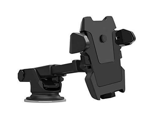 All Cart 360 Degrees Rotation Car Phone Mount, Universal Adjustable with Strong Sticky Gel Pad