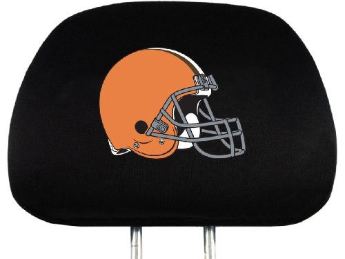 NFL Cleveland Browns Head Rest Covers, 2-Pack