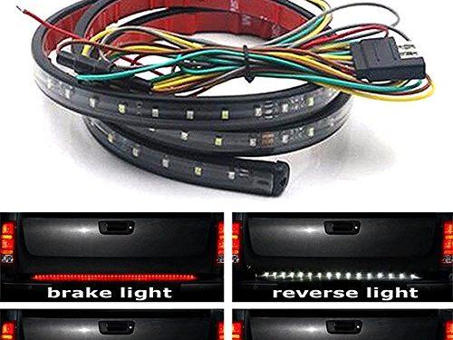 JDM 60″ PICKUP TRUCK/ SUV/ JEEP LED TAILGATE LIGHT BAR BRAKE REVERSE LEFT RIGHT TURN SIGNAL LED LIGHT STRIPS