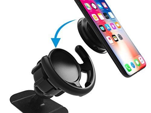 Pop Out Stand Car Mount 360° Rotation Car Dashboard Desk Wall Mount For Pop Socket Users