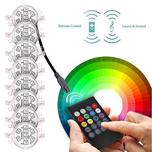 MICTUNING RGBW LED Round Rock Lights with Wireless Remote Controller on suzuki wiring diagram, lamp wiring diagram, led rocker switch wiring diagram, generic wiring diagram, winch wiring diagram, uxcell wiring diagram,