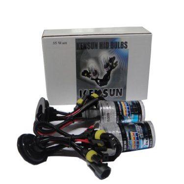 6000K – Kensun HID Xenon 55 Watt Replacement Bulbs 9007 HB5 Bi-Xenon