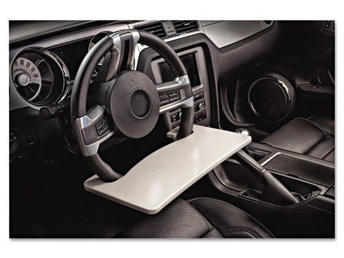 AutoExec Wheelmate Steering Wheel Attachable Work Surface Tray