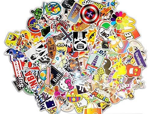 200 PREMIUM Stickers Decals Vinyls | Pack of The Best Selling Quality Sticker | Perfect To Graffiti Your Laptop, Skateboard, Luggage, Car, Bumper, Bike, Hard Hat | The Bryta Store