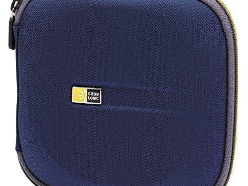 Case Logic EVW-24 EVA Molded 24 Capacity CD/DVD Case Blue