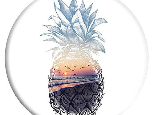 Artswow Expanding Stand Grip Pop Mount Holder Socket for iPhone, Multi-Function Mounts and Stands Phone Grip – Pineapple