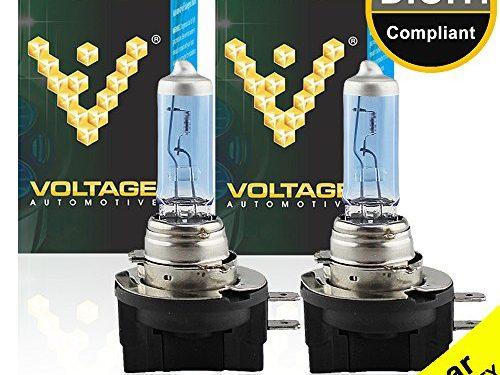 Professional Upgrade Head Light Bulb – Voltage Automotive H11B Headlight Bulb Polarize Super White Bright Replacement Pair