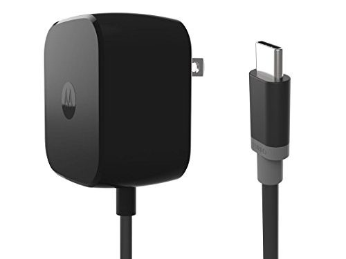 Motorola TurboPower 30 USB-C / Type C Fast Charger – SPN5912A Retail Packaging for Moto Z Force