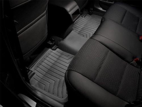 WeatherTech Custom Fit Rear FloorLiner for Ford Edge/Lincoln MKX Black