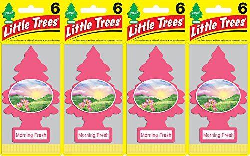 Little Trees Morning Fresh Air Freshener, Pack of 24