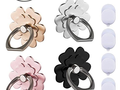 Phone ring stand holder 4 package Metal Finger Grip Stand Holder Ring,Car Mount 360°Rotation Phone Ring Grip for Samsung Galaxy iphone Tablet PC Smartphone phone ring flower