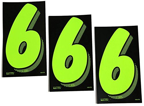 7 1/2 Green Chartreuse Pricing Numbers For Car Dealers 3 Dozen 36 6s