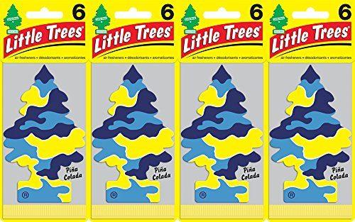 Little Trees Piña Colada Air Freshener, Pack of 24