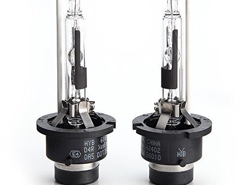 HYB 6000K 35W D4R car Xenon HID Headlight Replacement Bulb Pack of 2