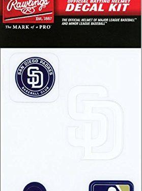 Rawlings Sporting Goods MLBDC Decal Kit, San Diego Padres