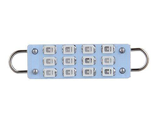 CCIYU T5 Instrument Cluster Indicator Led Bulbs 44 42mm Festoon Light 44mm festoon