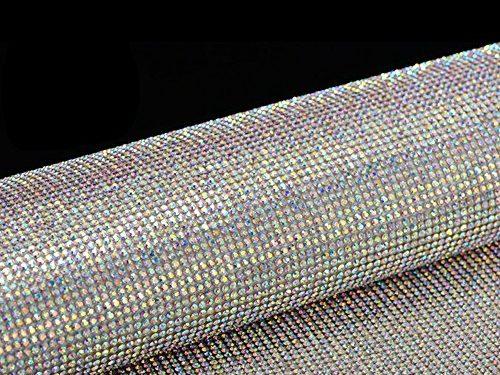 """YGMONER 9000pcs Bling Crystal Rhinestone 9.4 x 7.9"""" DIY Car Decoration Sticker A+B color"""