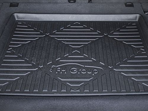 FH Group F16407-32 Black 32″ Premium Multi-Use Cargo Tray Liner Car SUV and Garage Trunk Mat