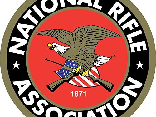 NRA National Rifle Association America Car Bumper Symbol Sticker Decal Die Cut Vinyl Truck Window Computer Laptop Made and Shipped in USA