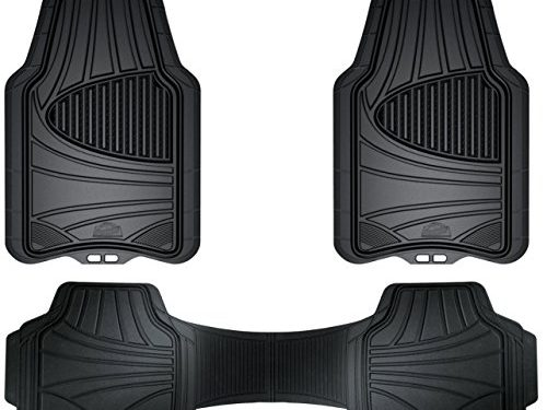 Armor All 78843 3-Piece Black Full Coverage Rubber Floor Mat