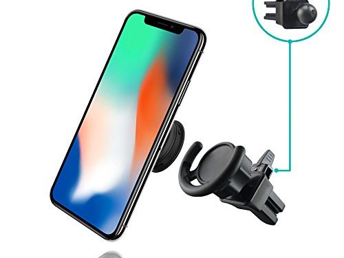 Air Vent Adapter for Expanding Stand & Grip – Adjustable Switch Lock Technology – Works with iPhone and Android – HOT NEW Pop Socket Car Mount by MiniMAX