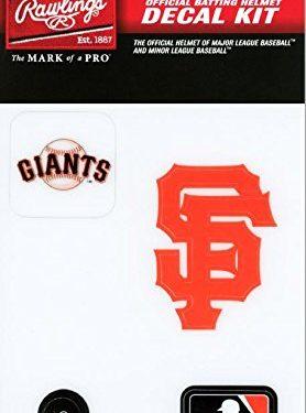 Rawlings Sporting Goods MLBDC Decal Kit, San Francisco Giants