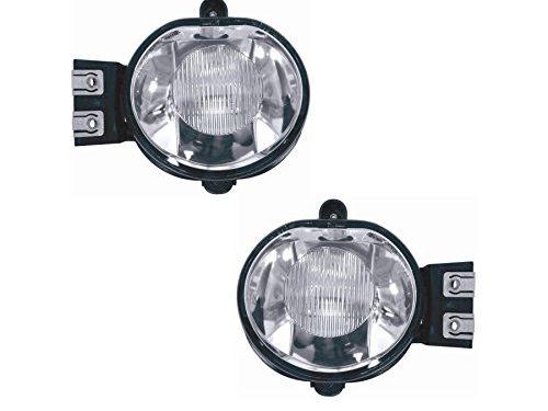 2003 2004 2005 2006 2007 2008 2009 Dodge Ram 1500-3500 Chrome Black Bezel Fog Lights Only – Remarkable Power FL7109