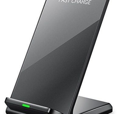 Seneo iPhone X Wireless Charger, Fast Wireless Charger Charging PadNo AC Adapter for Samsung Galaxy Note 8 S8 S8 Plus S7 S7 Edge Note 5 S6 Edge Plus, Standard Charge for Apple iPhone X / 8 / 8 Plus