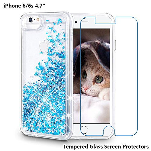 glitteting tampered glass for phone