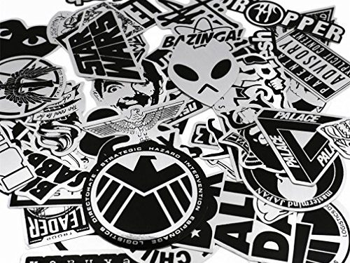 UTSAUTO Graffiti Stickers Decals Pack of 50 pcs Car Stickers Motorcycle Bicycle Skateboard Luggage Phone Pad Laptop Stickers And Bumper Patches Decals Waterproof Type 5