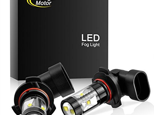 CREE 30W 5000K Bright White Pack of two bulbs – Cougar Motor 9006 LED Fog Light/DRL Bulbs