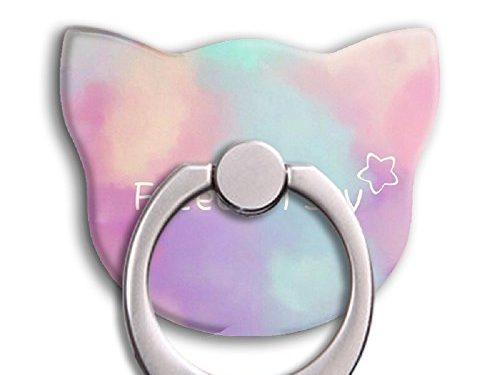 Universal Phone Ring Bracket holder ,Cat Shape Finger Grip Stand Holder Ring Car Mount Phone Ring Grip Smartphone Ring stent Tablet lovely
