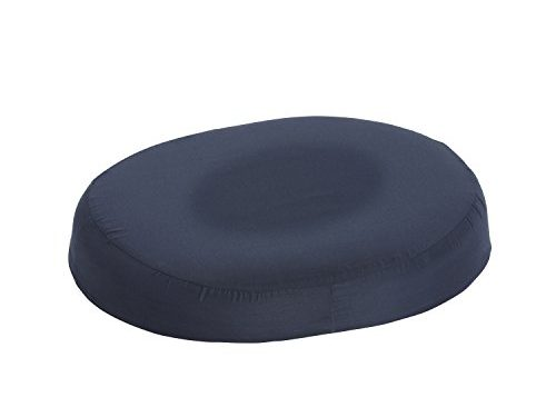 DMI Donut Seat Cushion Comfort Pillow for Hemorrhoids, Prostate, Pregnancy, Post Natal Pain Relief, Surgery, 16 inch