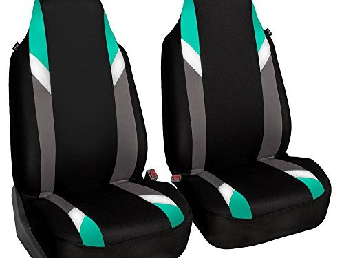 FH Group FB133MINT102 Supreme Modernistic Mint Bucket Seat Cover