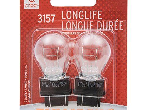 SYLVANIA 3157 Long Life Miniature Bulb, Contains 2 Bulbs