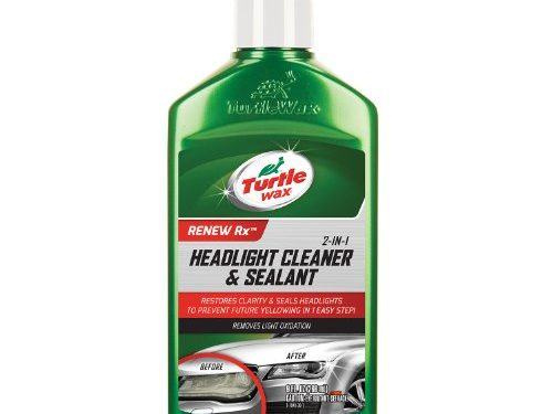 9 oz. – Turtle Wax T-43 2-in-1 Headlight Cleaner and Sealant