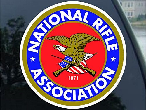 NRA Guns and Rifles Sticker Decal 5″ Buy 1 get 1 Free
