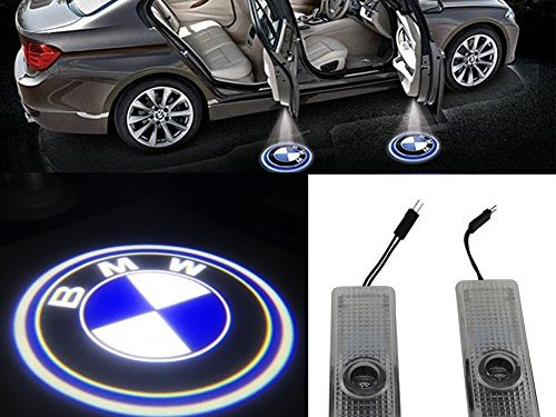 Grolish Easy Installation Car Door LED Logo Projector Cree LED Door Step Courtesy Light for BMW