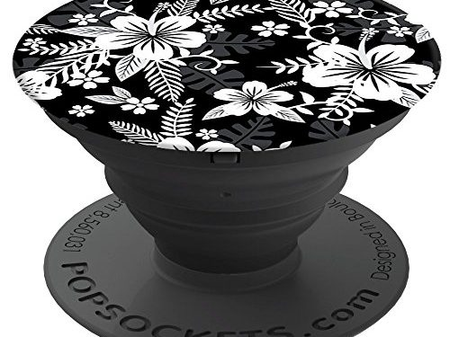 PopSockets: Collapsible Grip & Stand for Phones and Tablets – Hawaiian Black
