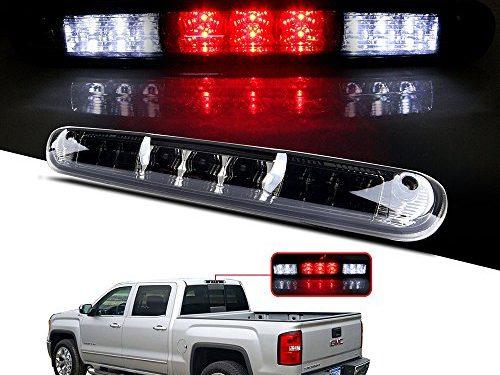 CCIYU LED 3rd Brake Lights Cargo Lamp Assembly Automotive Tail Lights Smoke Lens for 2007-2013 Chevy Silverado / GMC Sierra
