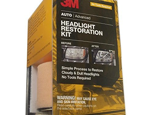 3M 39084-4PK Headlight Restoration Kit, Pack of 4