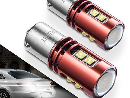 1156 1141 LED Bulb Reverse Lights SEALIGHT 5007 7506 1157 9 CREE LED Chips Back Up Light Extremely Bright Xenon White 6000K
