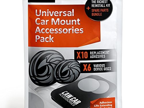 3M Adhesive Stickers, Universal Metal Phone Plates and Mounting Discs in Unique Adhesives Life Extending Packaging – The Richest Replacement Pack for any Magnetic Car Mount