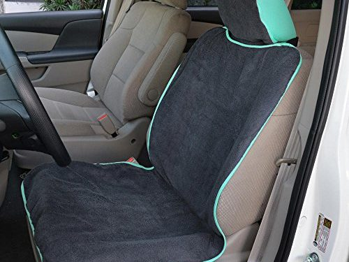 Beach Swimming Outdoor Sports Seat Protector Mint – Waterproof Machine Washable – UltraFit Sweat Towel Auto Car Seat Cover for Yoga Running Crossfit Workout Athletes