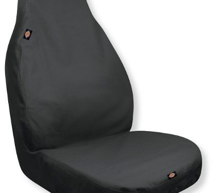 Dickies 3001109 Heavy Duty Water-Resistant Trader Seat Cover, Black