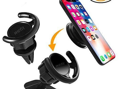 Air Vent – Car Mount For Pop Sockets – Perfect for iphone ipod Galaxy HTC With Pop Socket – Easier GPS Navigation and Calling black – 360 Degree Rotation