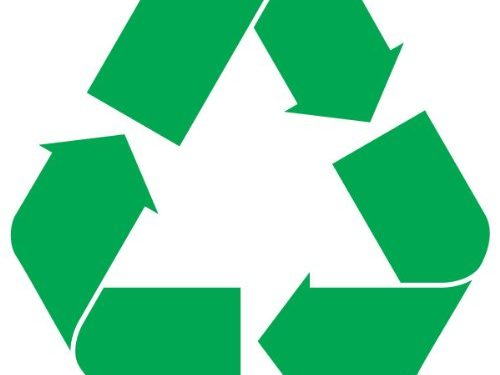 Recycle Logo Sticker Decal Notebook Car Laptop 3″ Green